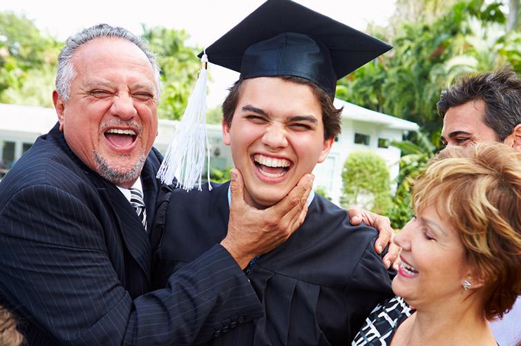 Graduation Smile Faces